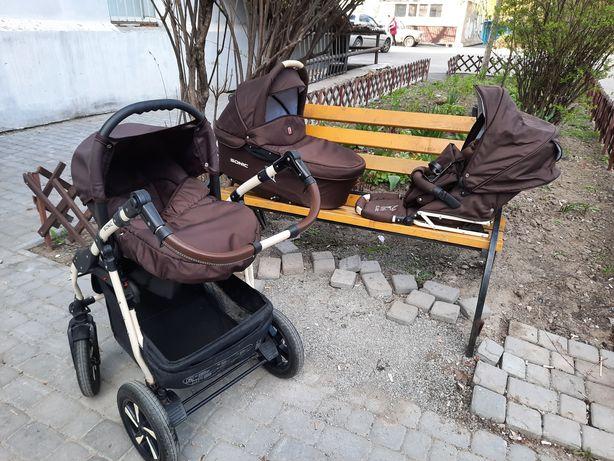 Детская коляска, коляска Sonic Verdi 3 в 1, Автокресло 0+