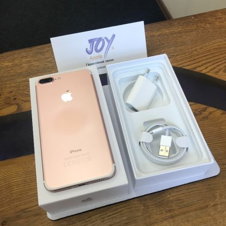 iPhone 7+ 32 GB Rose Gold КИЕВ NEVERLOCK Гарантия Рассрочка