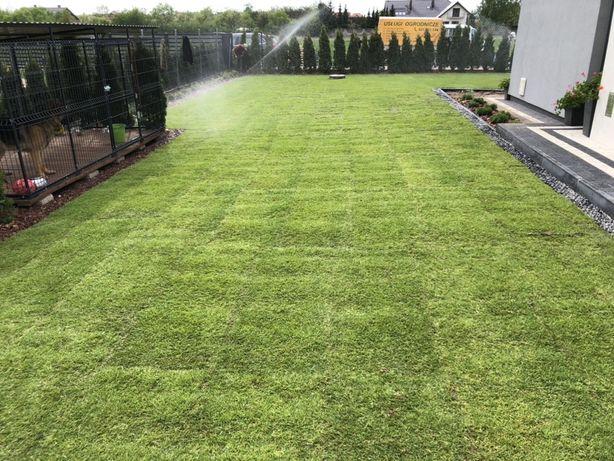 Nawodnienia automatyczne, trawnik z siewu- z rolki, zakladanie ogrodow