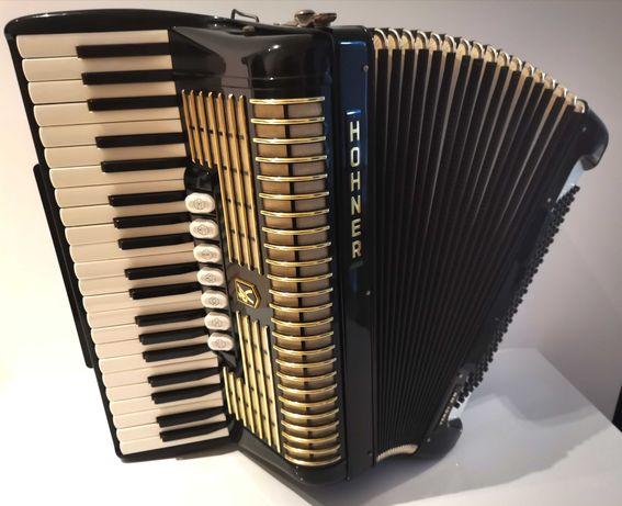 Akordeon Hohner Verdi III N 120/3/5 - stan fabryczny! Piękny!