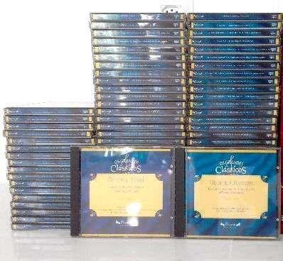Os Grandes Clássicos + 70 cds de música clássica