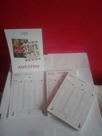 Szachy zeszyty do zapisu partii szachowych.