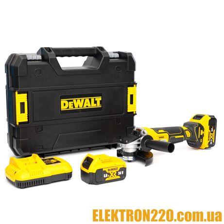 Болгарка аккумуляторная DeWALT DCG415   24V   5 A/h   Гарантия 1 год!