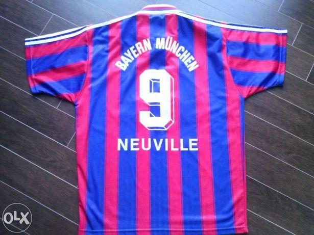 Camisola futebol bayern munique #9 neuville