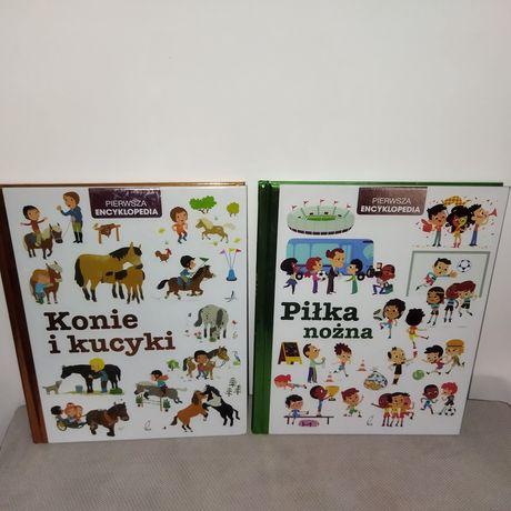Zestaw. Pierwsza encyklopedia. Konie i kucyki. Piłka nożna.