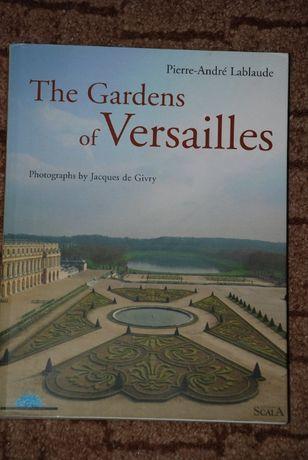 Книга - парки Версалю The gardens of Versallies