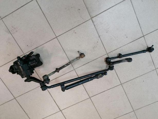 Przekładnia kierownicza z drążkami oraz tłumikiem drgań Mercedes w124