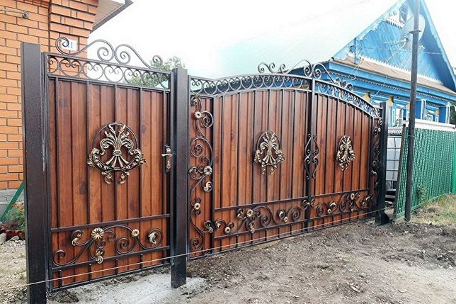 Забор из профнастила для дома и дачи. Недорого, качественно, красиво!