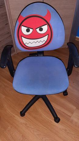 Fotel obrotowy dla dziecka. Przesyłka 1 zł.Stan bardzo dobry.