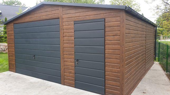 Garaż blaszany 5x6 5x7