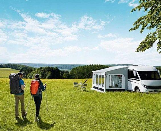 Namiot przedsionek kamper przyczepa do markizy THULE 4 metry safari