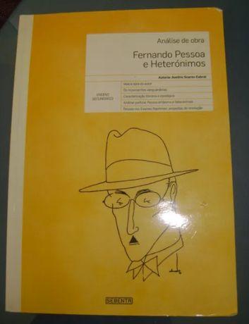 Fernando Pessoa - livro de apoio aos heterónimos de Fernando Pessoa