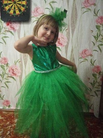 Новогоднее платье Елочки