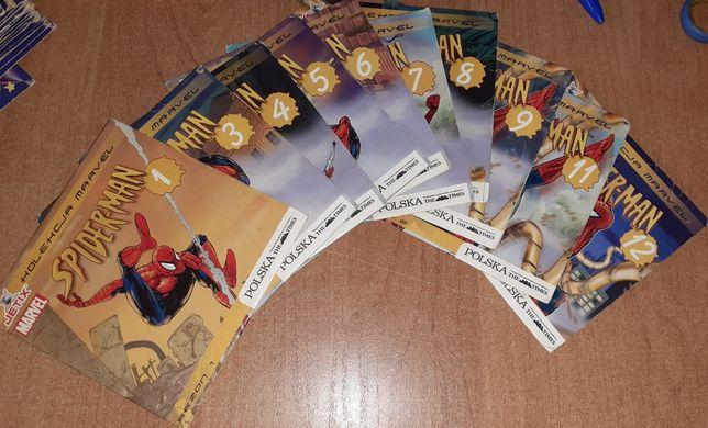 Spiderman płyty DVD