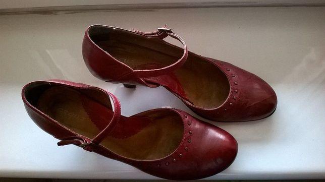 eleganckie czółenka szpilki buty damskie rozm.40