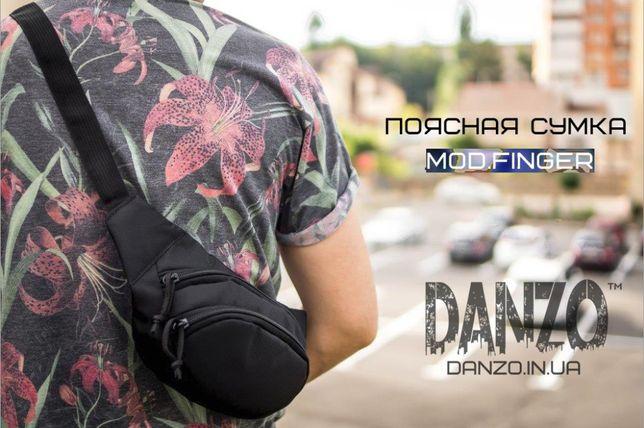 Поясная сумка через плечо mod.FINGER слинг бананка мужская рюкзак