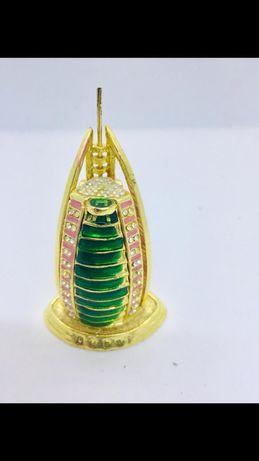 Сувенир Дубай Парус из латуни с секретом открывается на магните