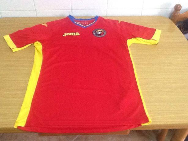 Camisa oficial seleção Roménia euro 2016