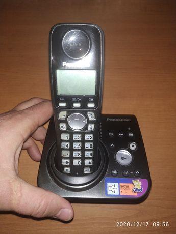 Телефон стационарный panasonic kx-tg7227ua