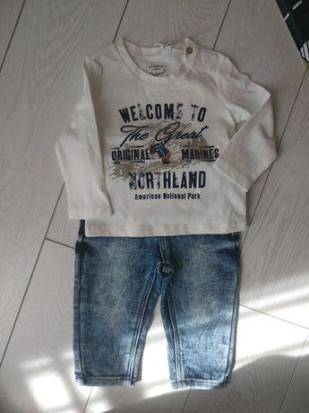 Комплект с бирками original marines джинсы футболка кофта