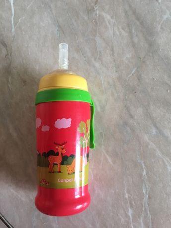 Поилка поильник бутылочка поїльник canpol babies трубочка