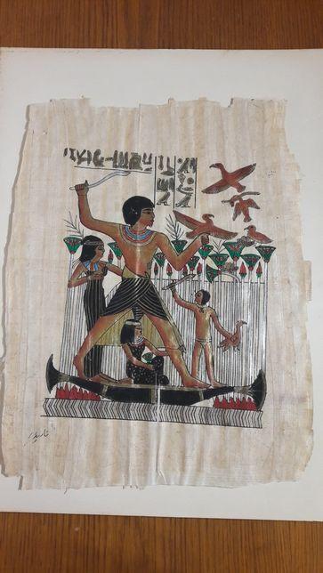 Пергамент египетский рисунок фараон