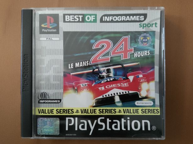 PS1 Le Mans 24 Hours Playstation