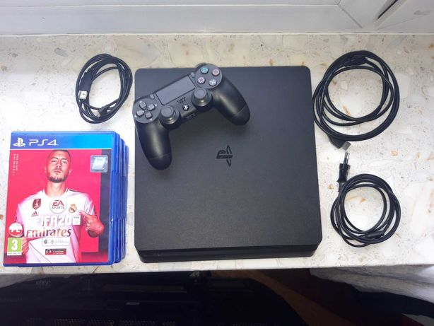 Konsola Sony Ps4 slim 1tb+6 gier