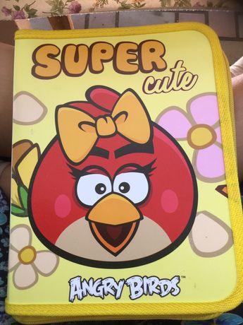 Папка для тетрадей,зошитів,Angry birds.енгри Бердс