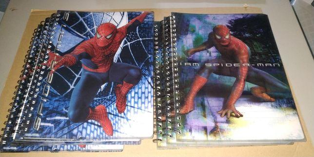 Cadernos escolares A4 (vários temas)