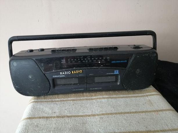 radiomagnetofon Grundig RR 1250 boombox