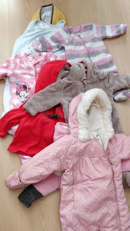 Ubranka dla dziewczynki - od 3 miesiąca - na chłodne dni
