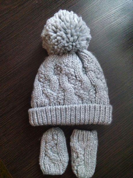 Зимова шапка+рукавички некст next
