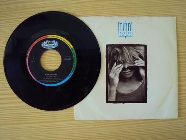 Disco vinil Tina Turner, The Best, 1989 - antiguidade