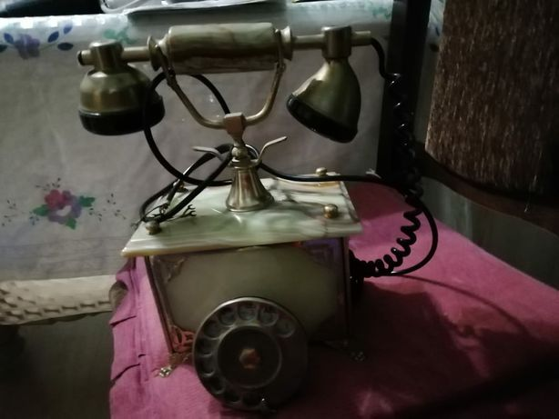 Телефон антикваріат позолочений 24 карат