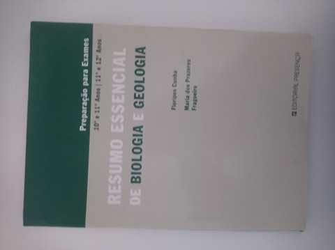 Resumo essencial e exercícios de biologia e geologia