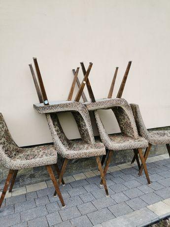 Stare krzesła patyczaki 6szt