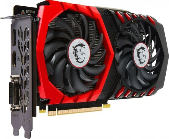 MSI PCI-Ex GeForce GTX 1050 Ti GAMING X 4GB GDDR5 (128bit) (1354/7008)