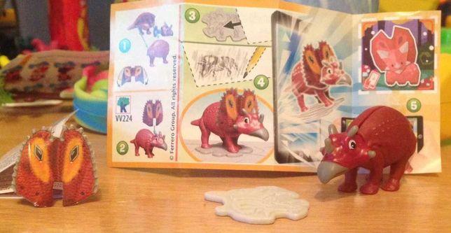 игрушки с киндера динозавры