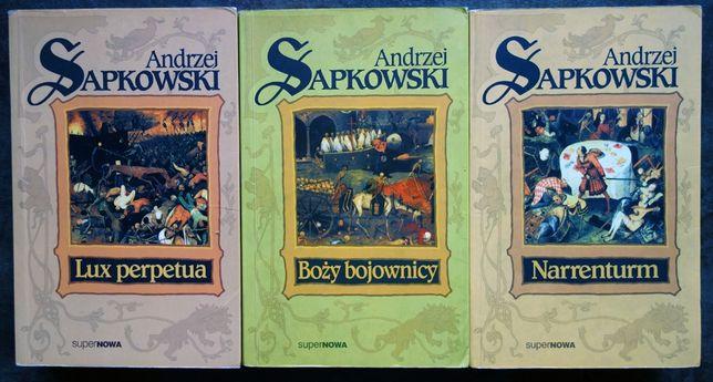 Trylogia Husycka - A. Sapkowski Narreturm Boży Bojownicy Lux Perpetua