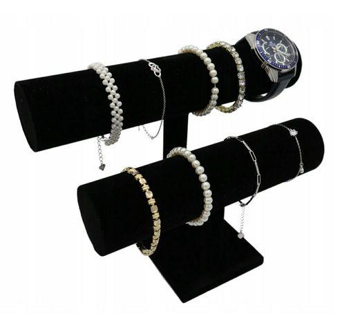 Ekspozytor podwójny na biżuterię zegarki bransoletki