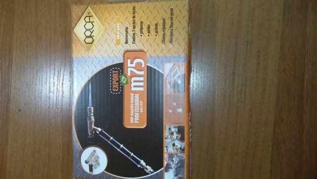 ювелирный инструментГорелка пропановая ORCA M75 (сопла 2, 2,5 и 3 мм)