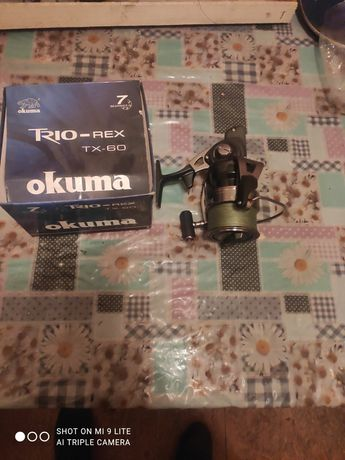 Катушка для рыбалки okuma