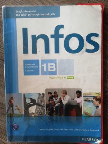Książka do J.niemieckiego Infos 1B