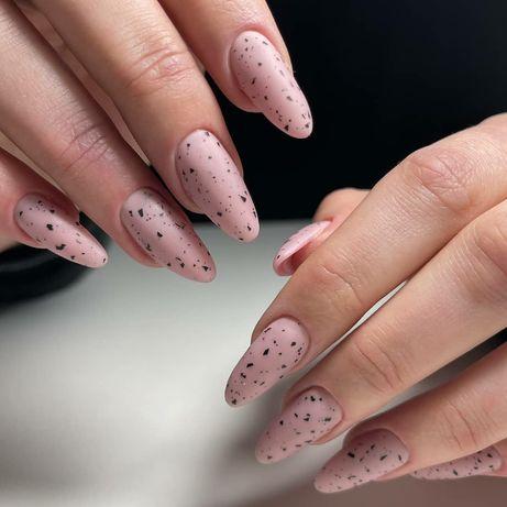 Perfekcyjny Manicure Hybrydowy Przedłużenie Paznokci, Paznokcie Żelowe