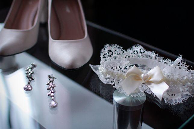 Подвязка на ногу невесте/нареченій весільна/свадебная