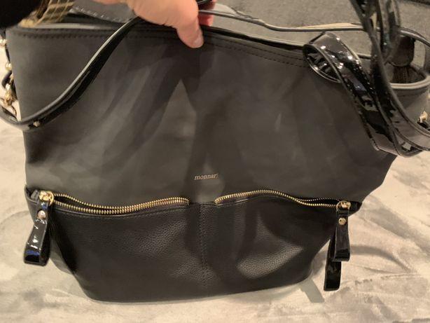 Duża torebka torba monnari jak nowa gwarancja