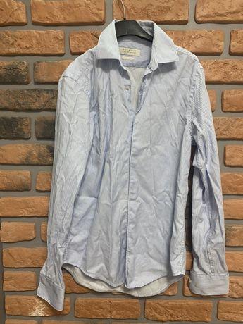 Zara Man męska koszula w paski pasiak S 36