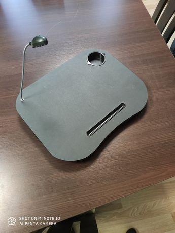 Podkładka / Stolik pod laptopa z lampką LED