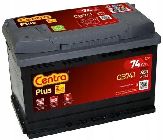 Akumulator Centra Plus CB741 12V 74Ah 680A L+ Kraków EB741